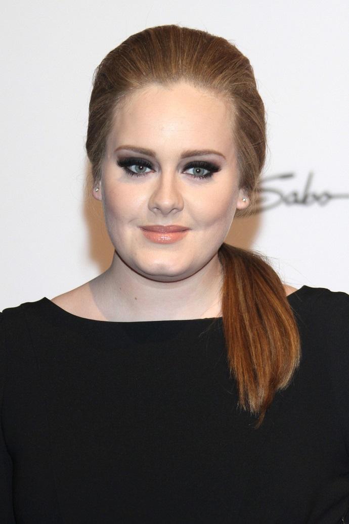 Adele rappt im Auto