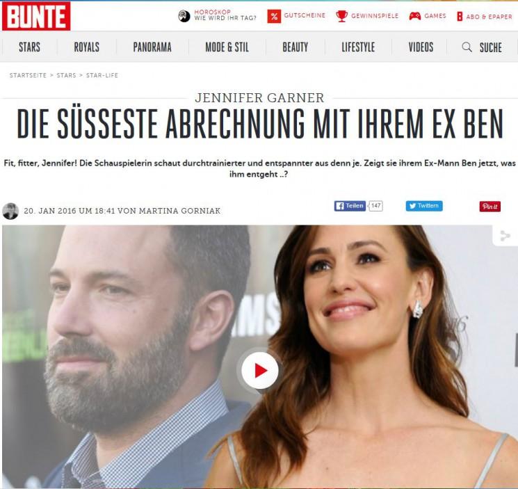Jennifer Garner – Besser denn je