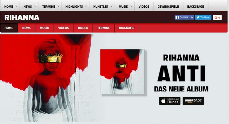 """Brandneu und lang ersehnt: Rihanna geht mit """"ANTI"""" an den Start"""