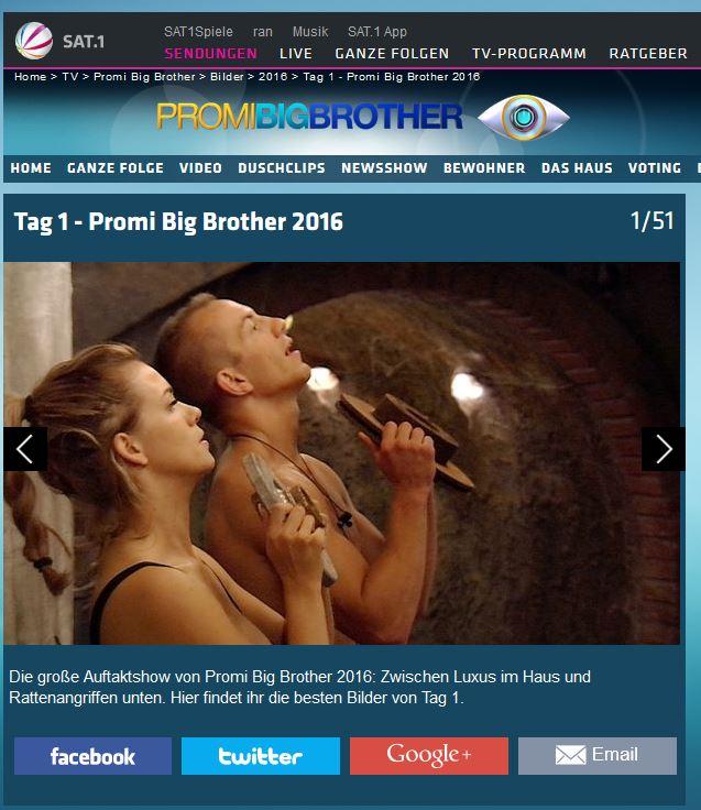 So lief der Auftakt von Promi-Big-Brother
