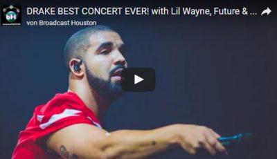 Drake auf Deutschlandtour: <br>So feierte er nach dem Konzert in Hamburg