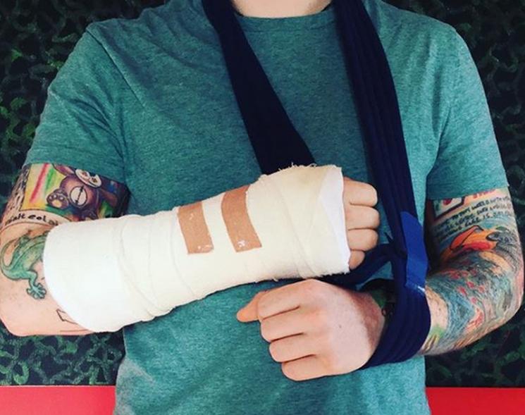 Unfall! Ed Sheeran muss Tour unterbrechen